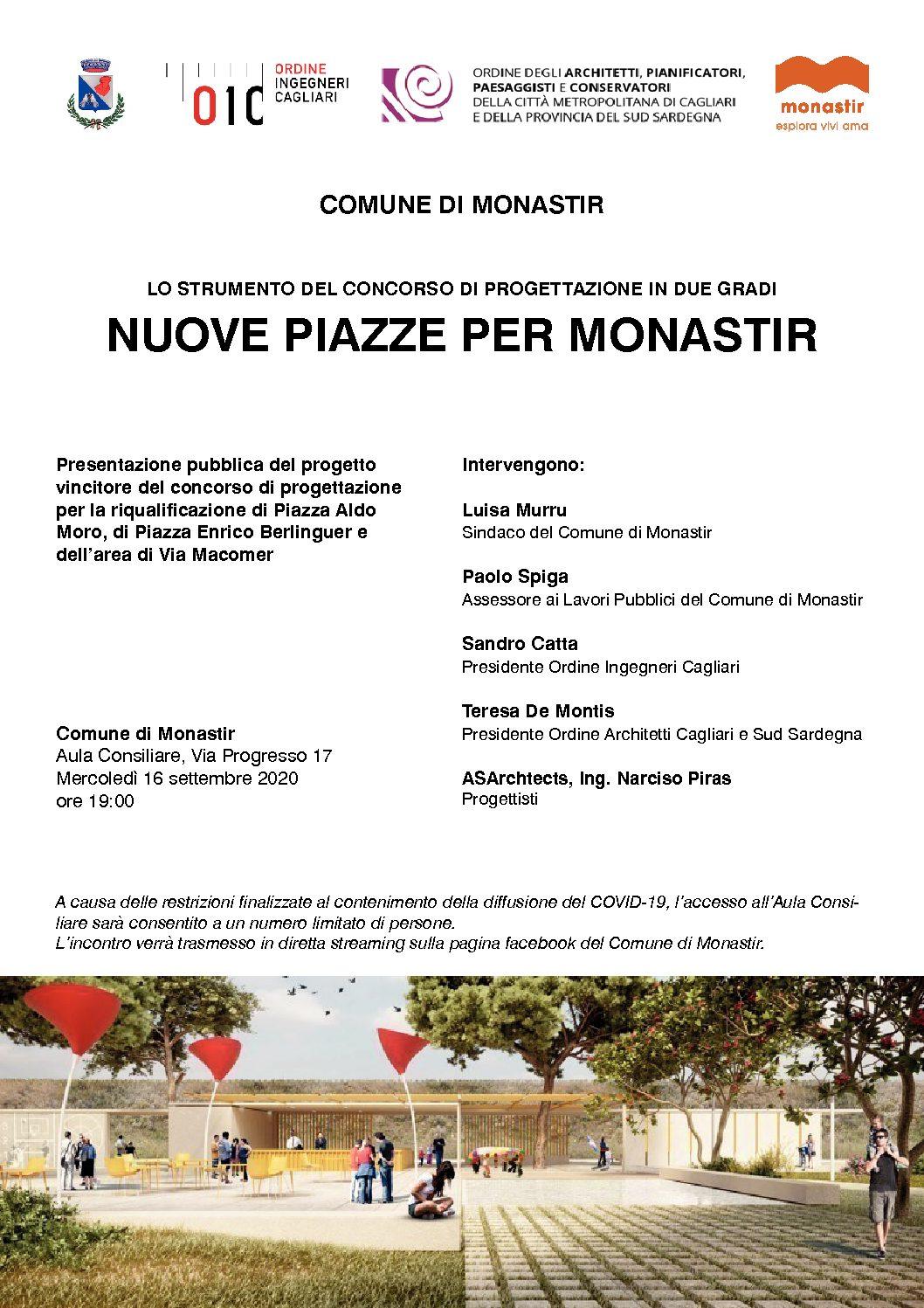 Conferenza – Nuove Piazze per Monastir
